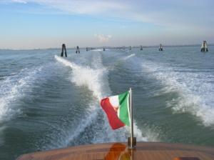 Across the Venice Lagoon