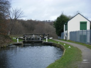 Turn off the Broad Canal to the Birkby Bradley Greenway here