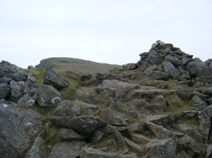 84 Moel Hebog not the top