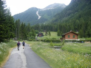 122 D3 route through champex