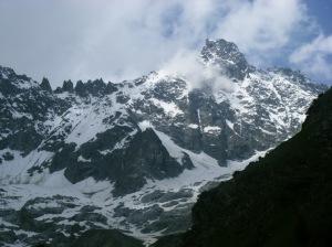 155 D4 view of Aiguille de La neuve