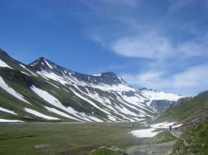 293 D8 route to Col de seigne