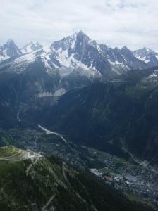 396 D12 view to chamonix